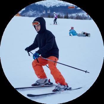 スキー画像